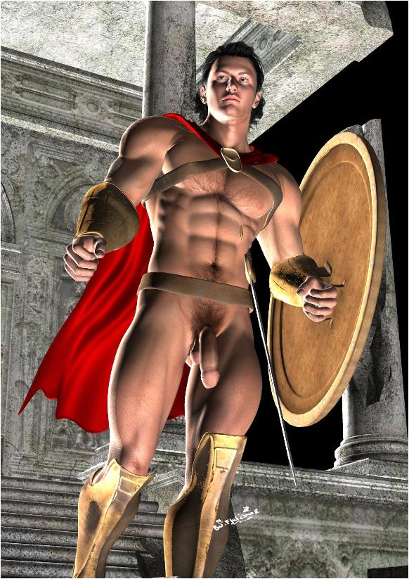 Nude Male Gladiators