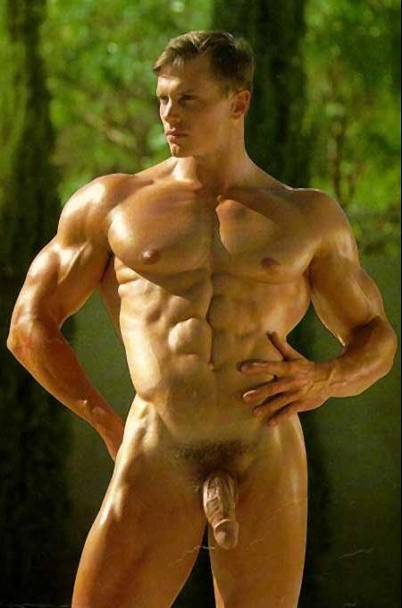 фото голых мужиков качков