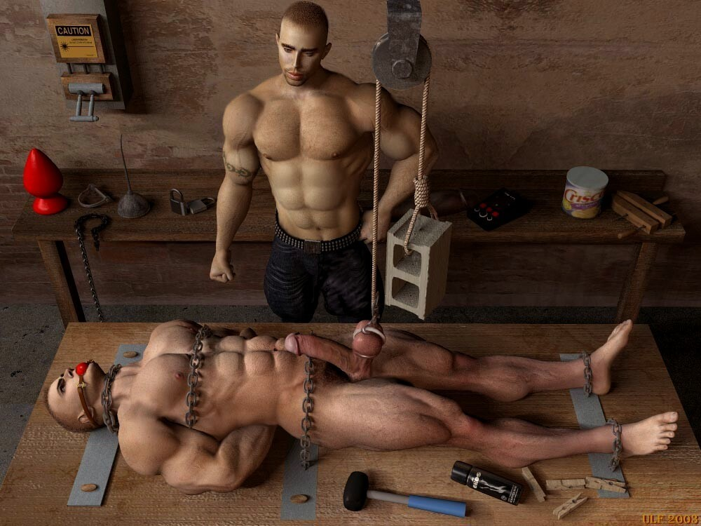 Gay Torture Men, Man Torture Cock - - Page 1