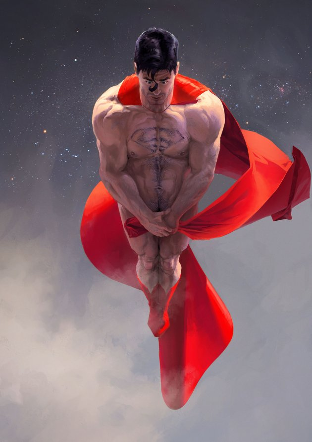 Hero naked
