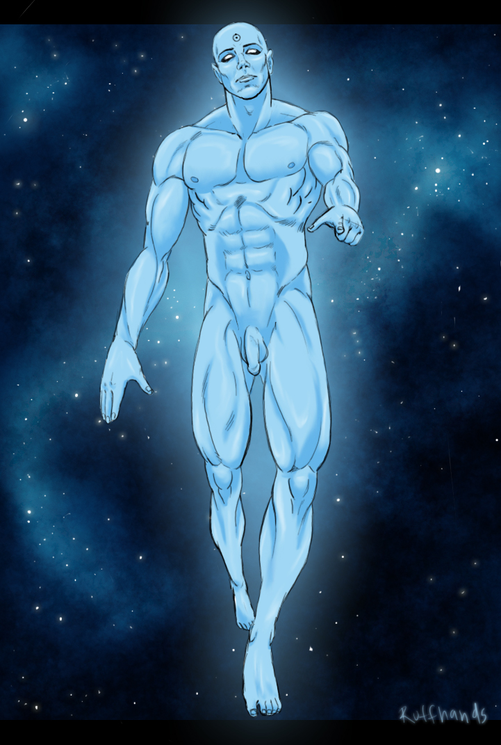 Dr Manhattan Naked Pictures 61