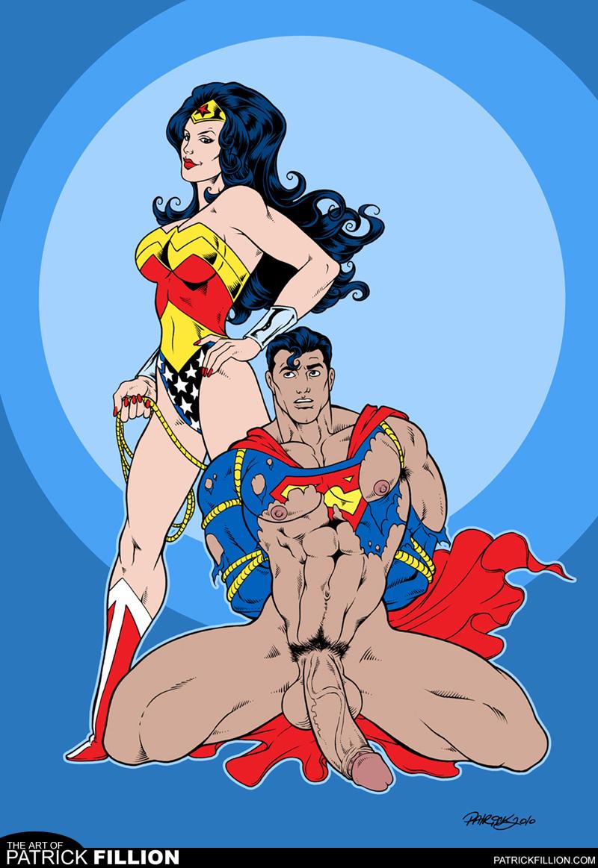 Superman nude females