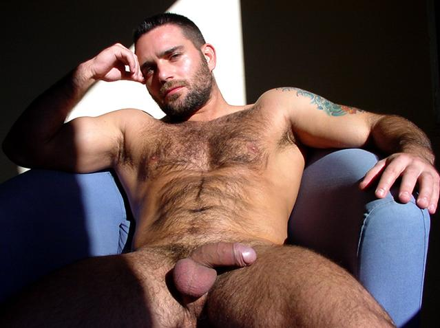 Naked Hairy Muscle Hunks