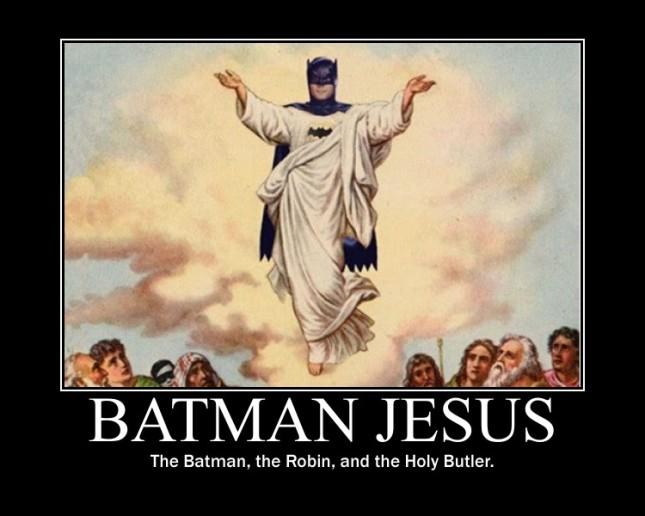 batman jesus by responsible atheist