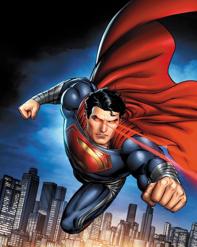 man of steel: superpowers by jpr art