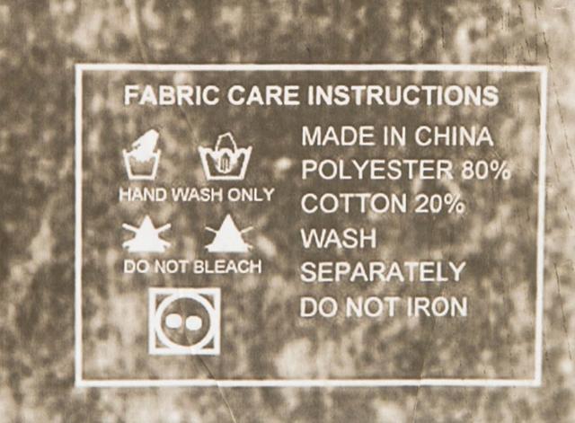Shroud of Turin Washing Instructions
