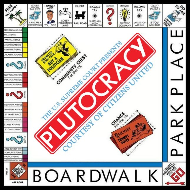 plutocracy monopoly game board