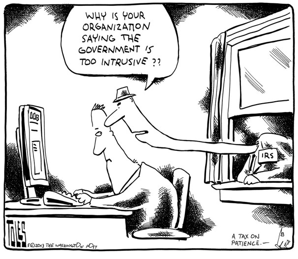 IRS by tom toles