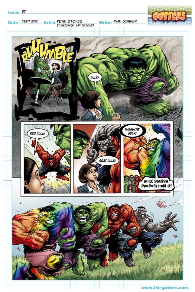 Rainbow Hulk