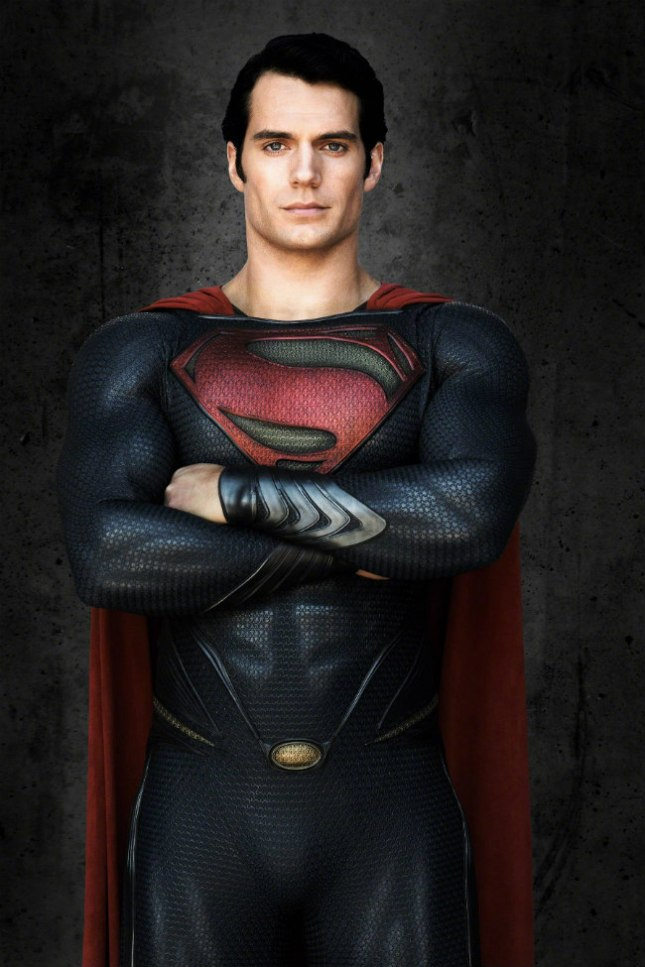 man of steel: henry cavill as superman 1