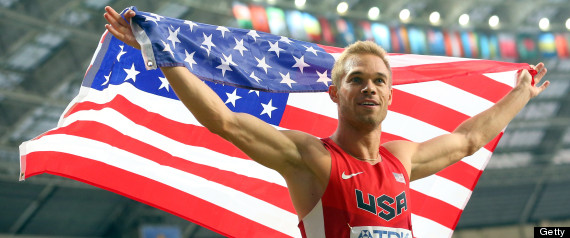 Nick Symmonds Wins Silver