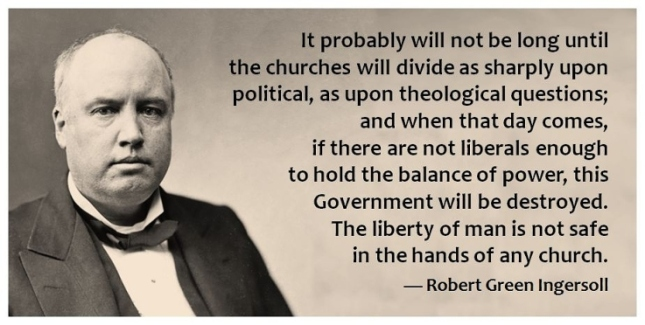 Ingersoll Quote Re: Liberals