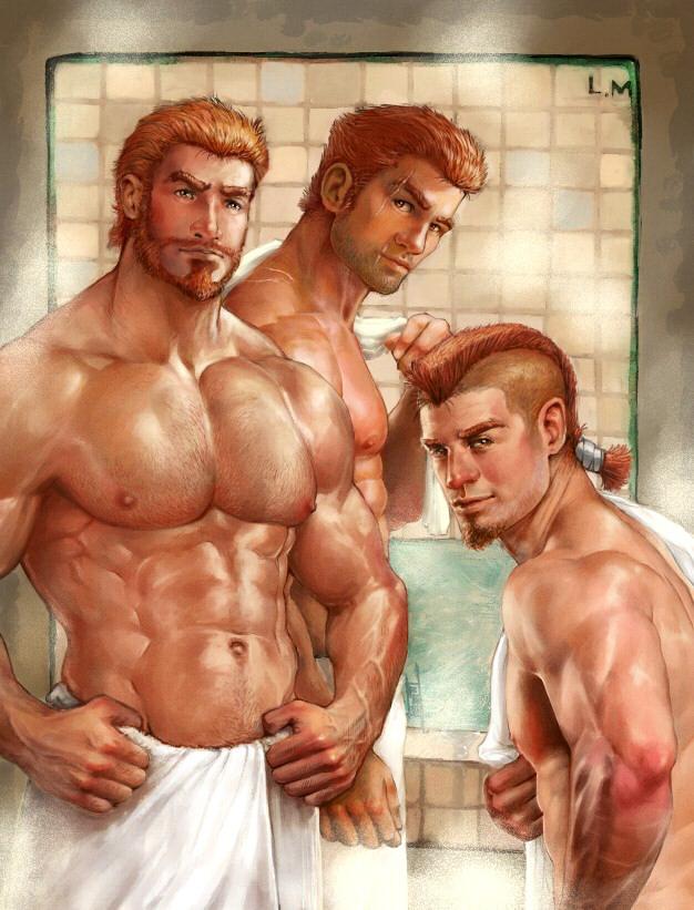 Sarito Bros ii by Amdhuscias