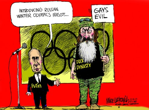 Vlad and Phil: A Match Made In Bigot Heaven by Mike Luckovich