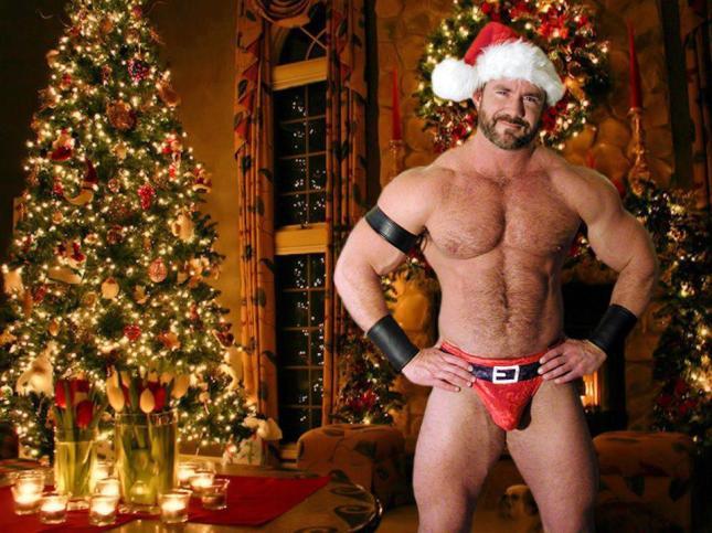 Gaybear Santa Claus