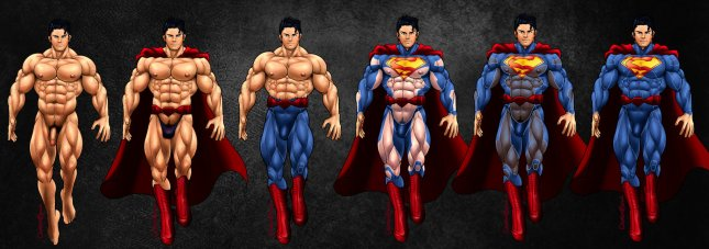 The Superman by Crimson Blood