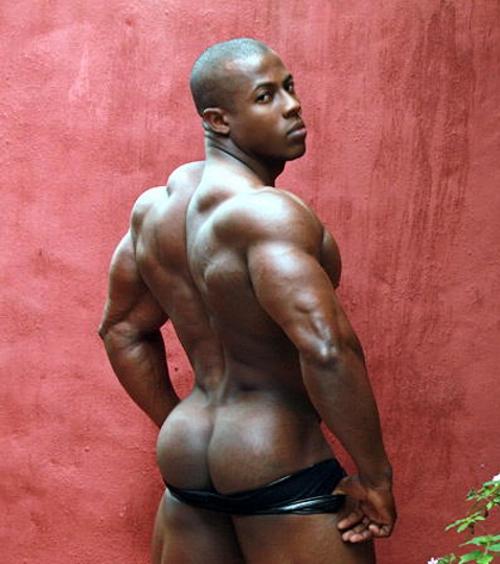 Bold Black Backside
