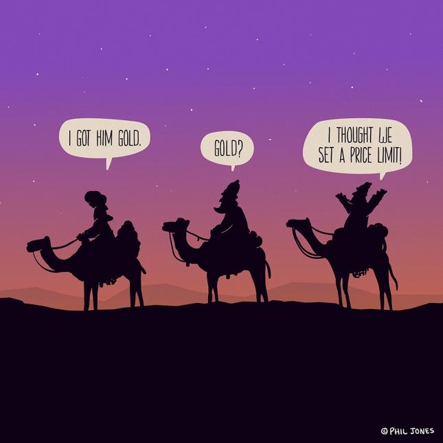 3 Wisemen by Phil Jones