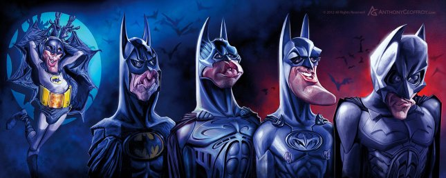 Batman Chronology by Anthony Geoffroy