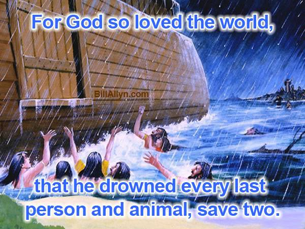 For God so loved the world . . .orld