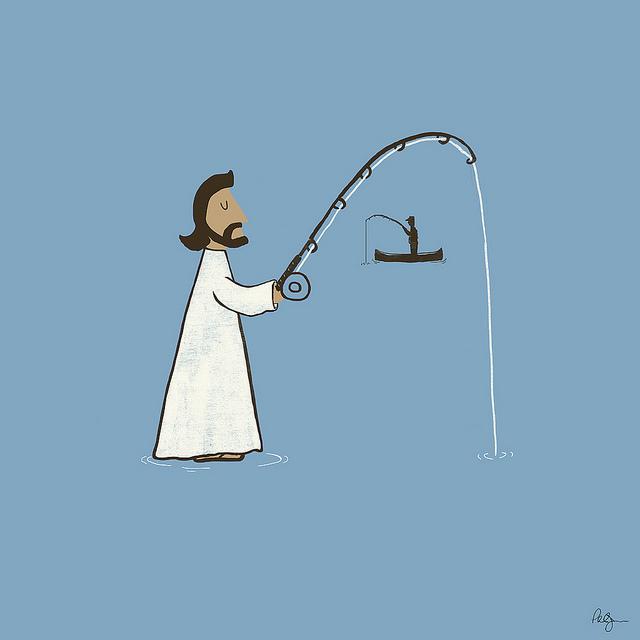Jesus Fish by Phil Jones