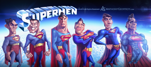 Supermen by Anthony Geoffroy