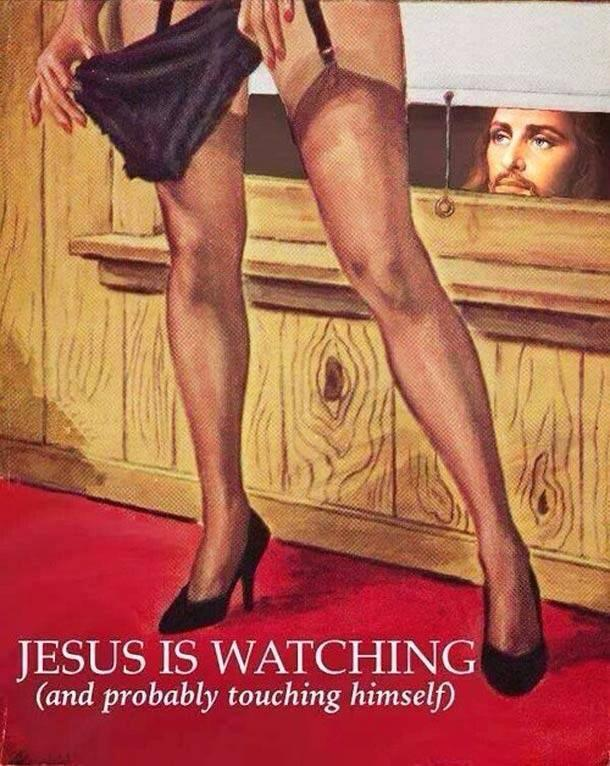 Watch Out! Jesus Sees Everything