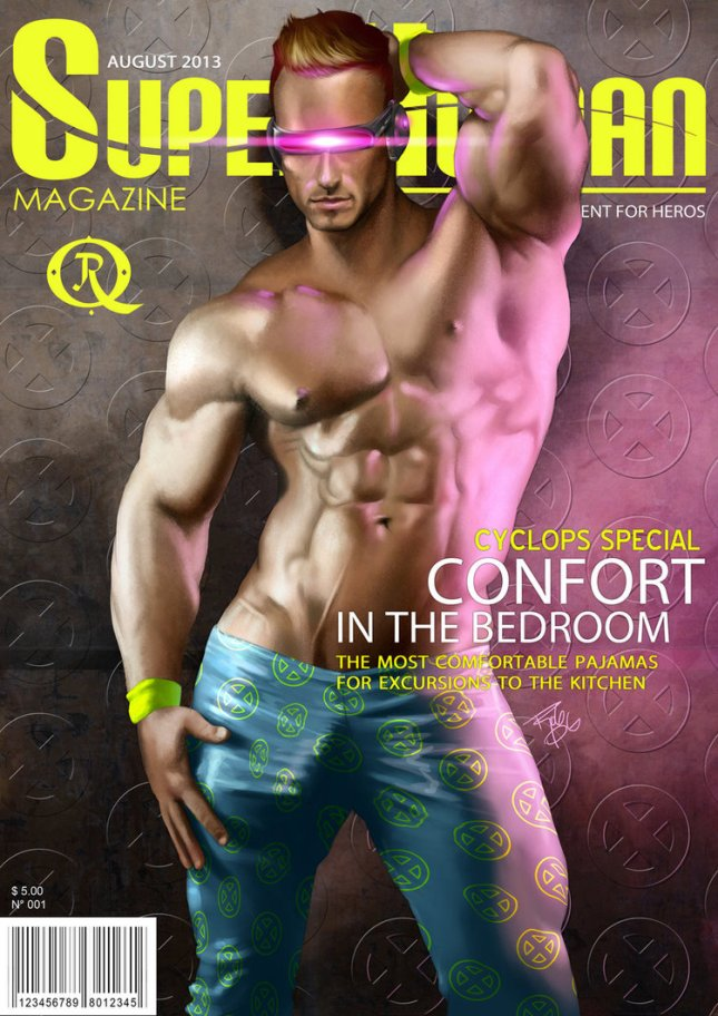 Cyclops Superhuman Magazine by El Guaricho