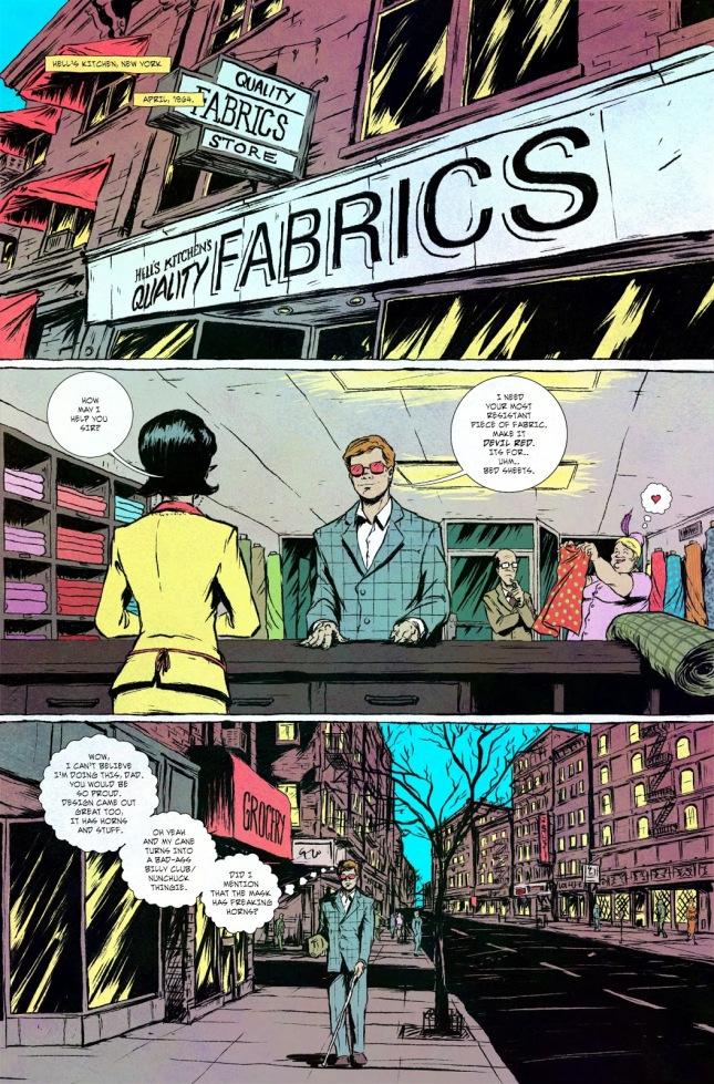 Daredevil Fashion Sense
