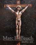 Hung On The Cross by Marc DeBauch
