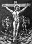 Karnal Crucifixion of Christ by Marc DeBauch