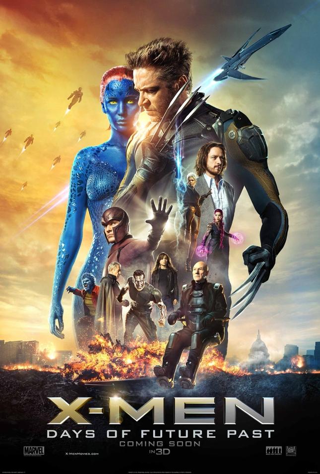 X-Men Character Mashup poster