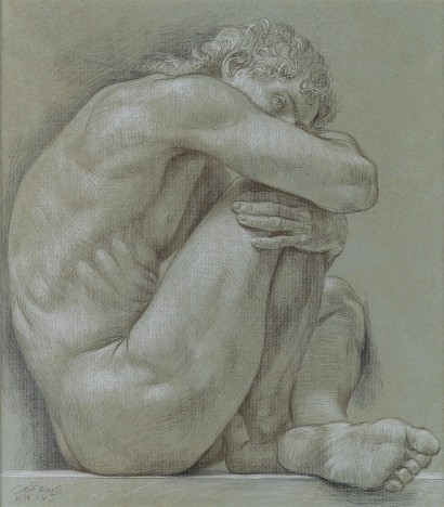 Male Nude by Paul Cadmus