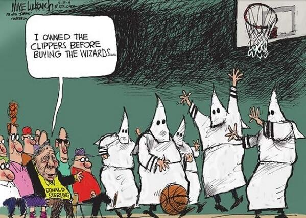 Donald The Racist by Mike Luckovich
