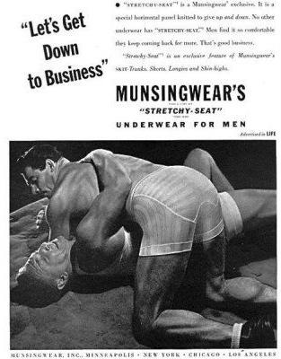 male underwear ad