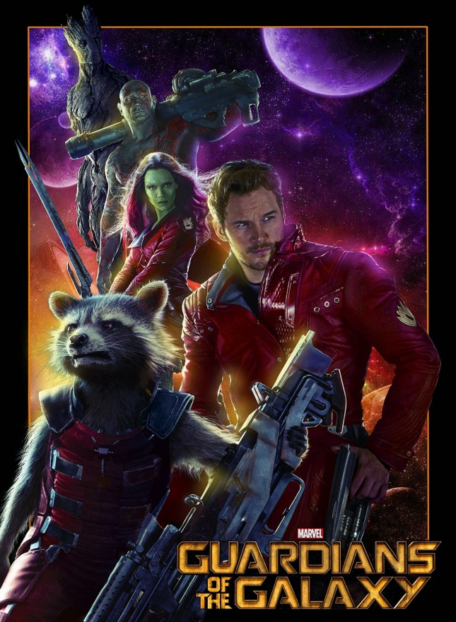 Guardians fan made poster
