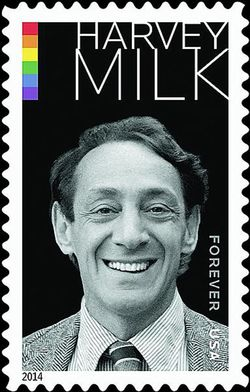 Harvey Milk US Postage Stamptamp