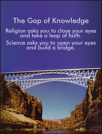 The Gap of Knowledge