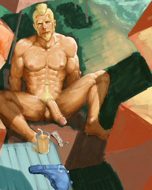 Blonde bear cum gay dominic pacifico proves 9