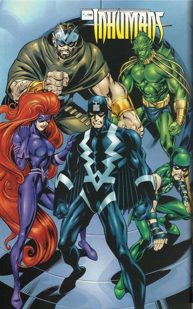 Inhumans: Fantastic Four (Vol 3, #51)