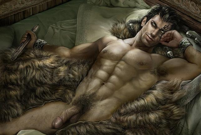 NSFW muscle male art