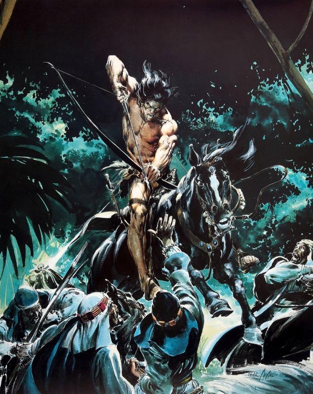 Tarzan or Conan or who