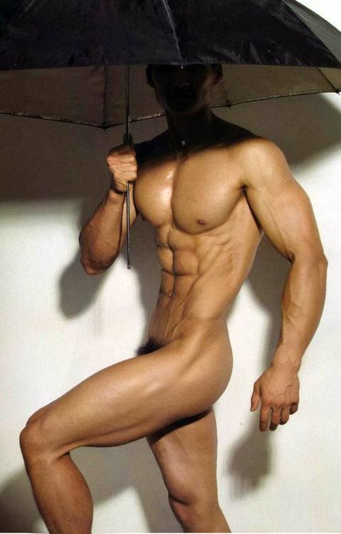 Idea Nude male art model body