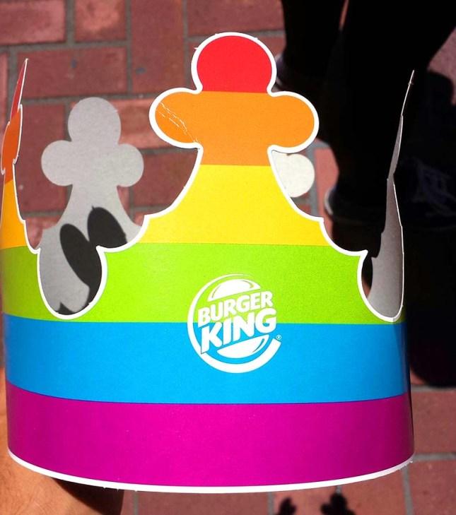 Burger King Rainbow Crown