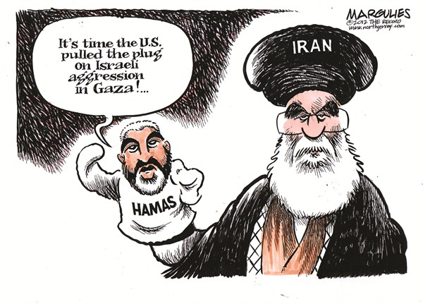 Hamas Iran connection by Jimmy Margulies