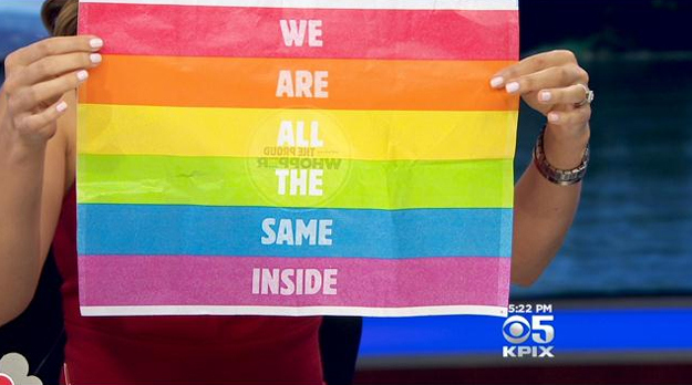 Proud Whopper Rainbow Wrapper