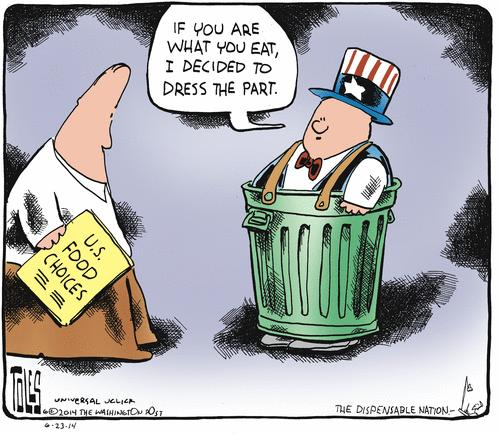 US Food Choices by Tom Toles