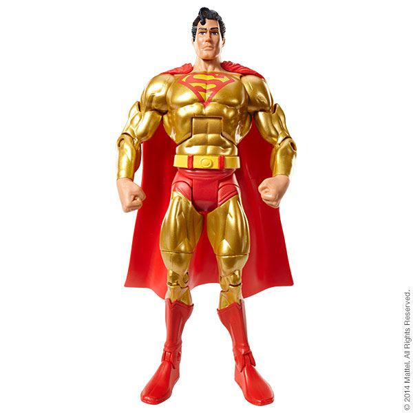 Mattel SDCC Super Powers: Gold Superman